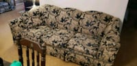 brown and blue floral fabric sofa Salem, 01970