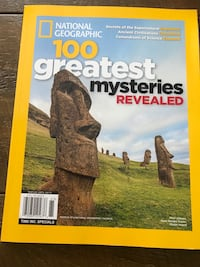 National Geographic magazine 124 pages