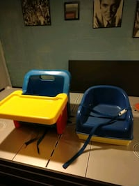 Booster seats. Both for $10 Bay City, 48706