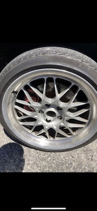 Cool bbs style rims 18* with tires