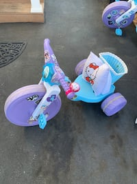 Tricycles frozen
