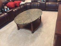 Antique marble top coffee table Safety Harbor