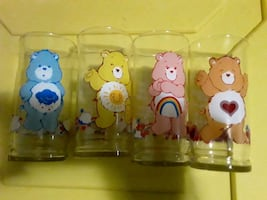 Care bear collectible glasses