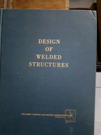 Design of Welded Structures book