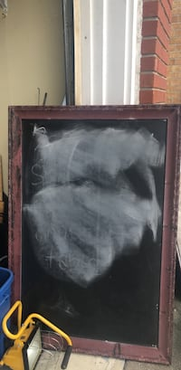 Chalk board vintage looking picture frame Vaughan, L6A 3M8