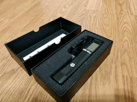 Compact electronic luggage weighing scale