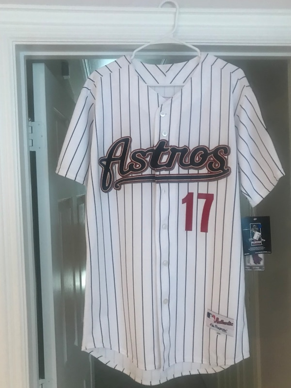 new style 037df 1bc67 Lance Berkman Houston Astros throwback authentic jersey size 54