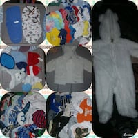New born winter clothes..over 100 pieces  Hopkinsville, 42240