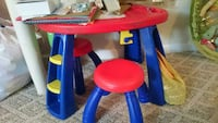 Kids Art Table set with 2 stools Crayola  Rockville