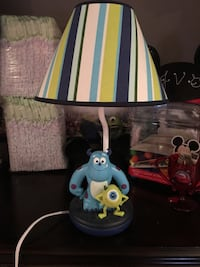 Monsters inc lamp Monroe Township, 08831