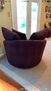 Fantastic condition suede chair Silver Spring, 20902