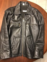 LEATHER JACKET mens 503 km