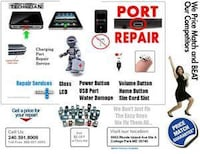 Charging port repair replacement - Any device  College Park, 20742