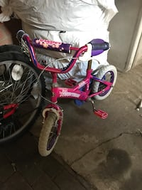 toddler's pink and purple bicycle Toronto, M4M