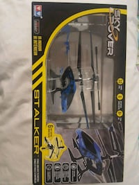 SKY ROVER blue stalker helicopter drone