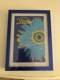 Brand new in wrapping 5x7 royal blue picture frame Lexington