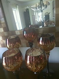 Murcury glass candles