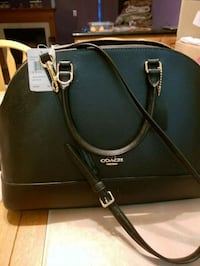 black and brown leather Michael Kors tote bag Bowie, 20720