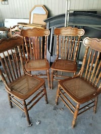 Country style chairs