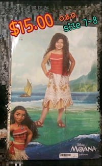 Moana costume and wig  Antioch, 94509