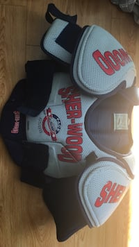 Sherwood junior hockey shoulder pads