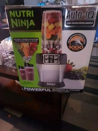 Nutri Ninja blender box screenshot Hamilton, L9A 3P4