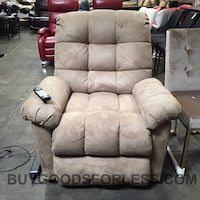 HUXLEY FABRIC LIFT CHAIR WITH REMOTE