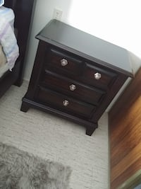 brown wooden dresser with mirror Ottawa