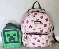 Minecraft Backpack and Lunch Box La Quinta, 92253