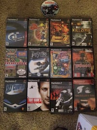 ps2 game lot Gaithersburg, 20878