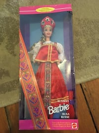 Barbie Russian Rusa Russe doll with box Lincoln, L0R
