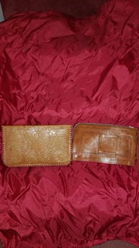 two brown leather coin purses Capitol Heights, 20743