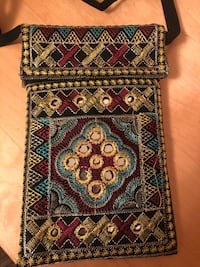 Embroidered purse Toronto, M9N 3Z6