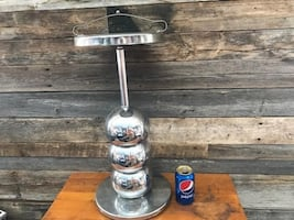 REDUCED - Vintage Chrome Ashtray