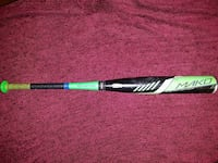 Black and Green Easton Mako baseball bat 42 km