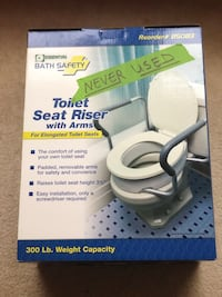 Toilet seat riser with arms Ashburn, 20147