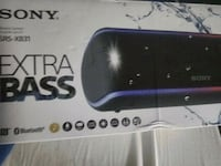 black and purple portable speaker North Fort Myers, 33903