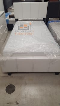 Brand new twin size platform bed frame with mattress  Silver Spring, 20902