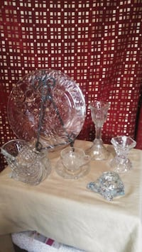 Set of crystal Riverside, 92504