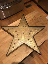 Marquee Sign Metal Star Lighted LED Falls Church, 22042