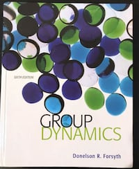 Group Dynamics (6th Edition) Toronto, M4S