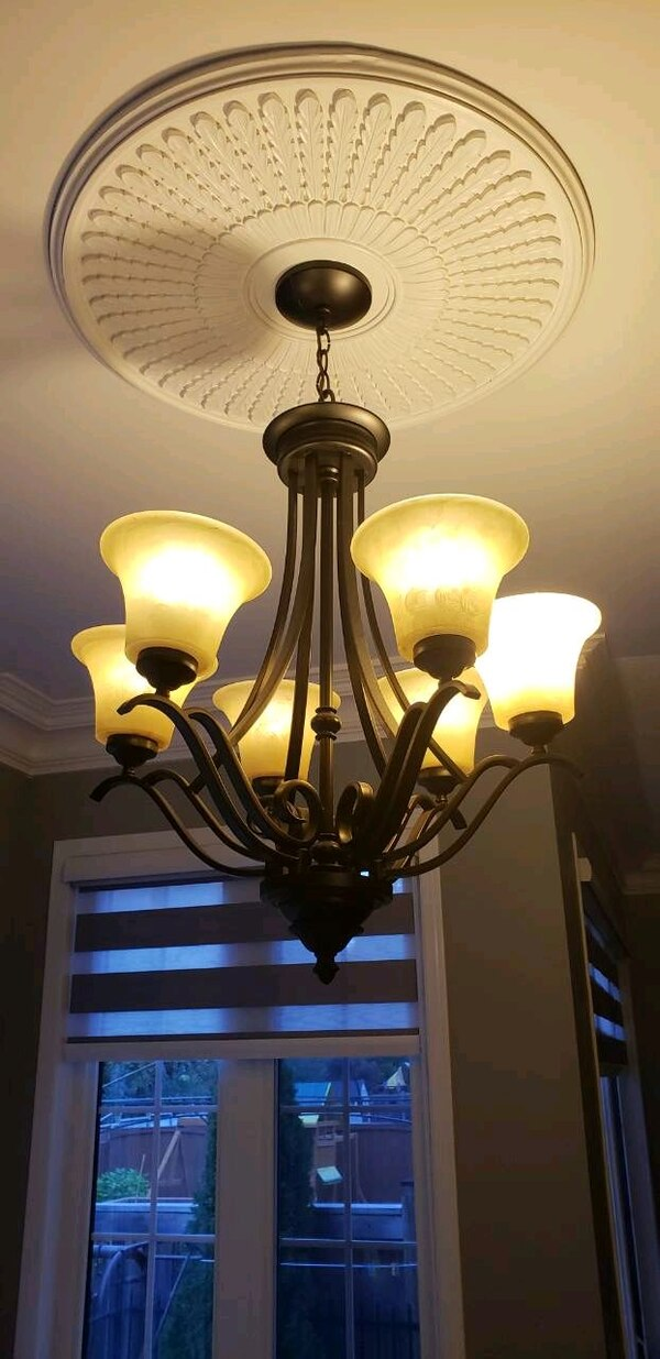 Ceiling light great condition 6 shad 37b2e8fe-d394-4481-a167-8af445bb5b59