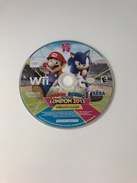 MARIO & SONIC AT THE LONDON 2012 OLYMPIC GAMES WII USED Carrollton, 75056