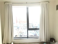 Pottery barn blackout curtains and rod 46 km