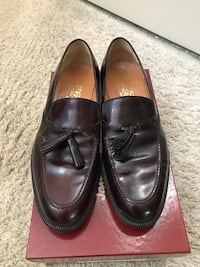 Salvatore Ferragamo burgundy loafer