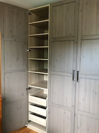 3 Double Hanging, 1 drawer unit  all Excellent condition Rockville, 20852