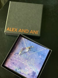 Alex & Ani Crystal  Wing Necklace Charm Charlotte, 28216