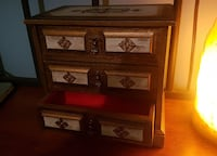 jewelry box crafted in India