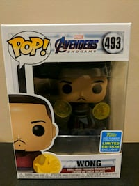 Funko Pop Wong exclusive Vaughan