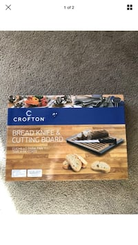 New Crofton Bread Knife & Cutting Board Great Holiday Gift West Haven, 06516